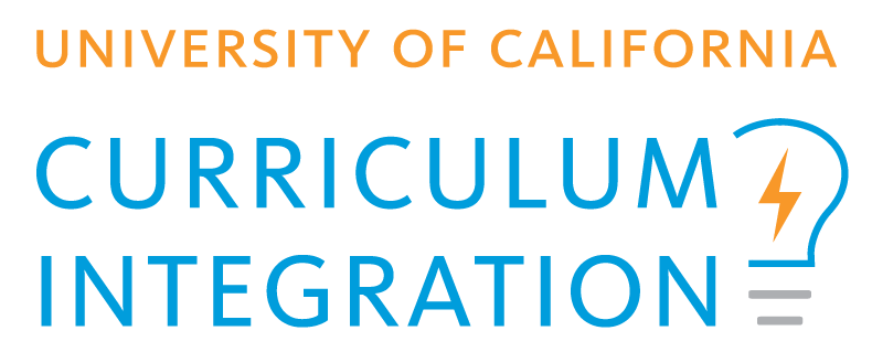 University of California Curriculum Integration